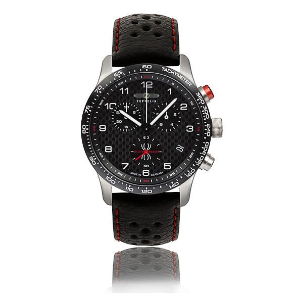 Chronograph mit Silikonband und 10 atm Wasserdichtigkeit