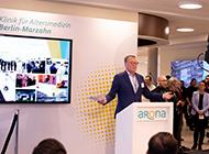 Eroeffnung der Arona Klinik
