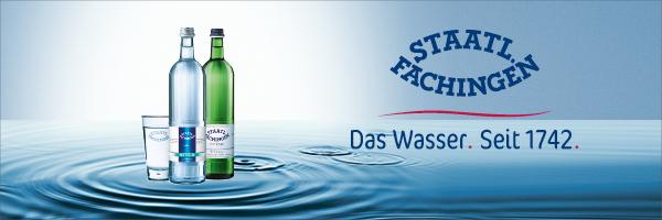 Staatl. Fachingen. Das Wasser. Seit 1742.