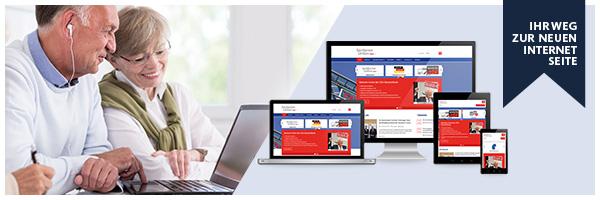 Ihr Weg zur neuen Internetseite