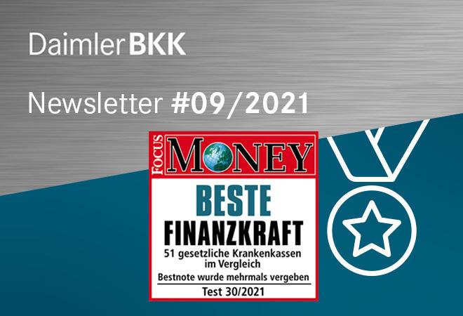 Daimler BKK Focus Money Siegel