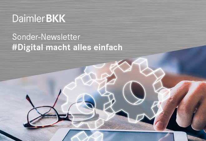 Sonder-Newsletter: Digital macht alles einfach