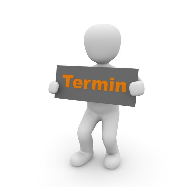 Terminschild
