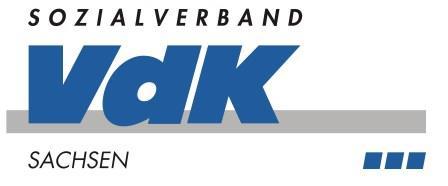 Logo Sozialverband VdK Sachsen