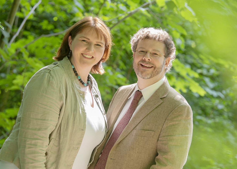 Pfrin Katharina Bach-FIscher und Pfr. Dr. André Fischer