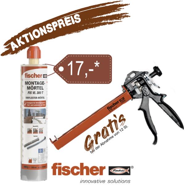 Fischer Montagemörtel 300 T