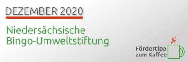 Fördertipp zum Kaffee: Niedersächsische Bingo-Umweltstiftung