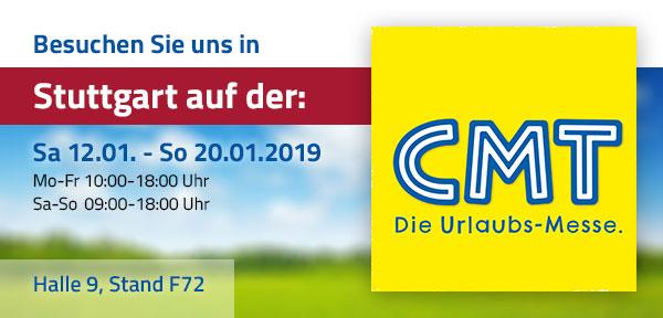 Messe CMT Stuttgart 2018