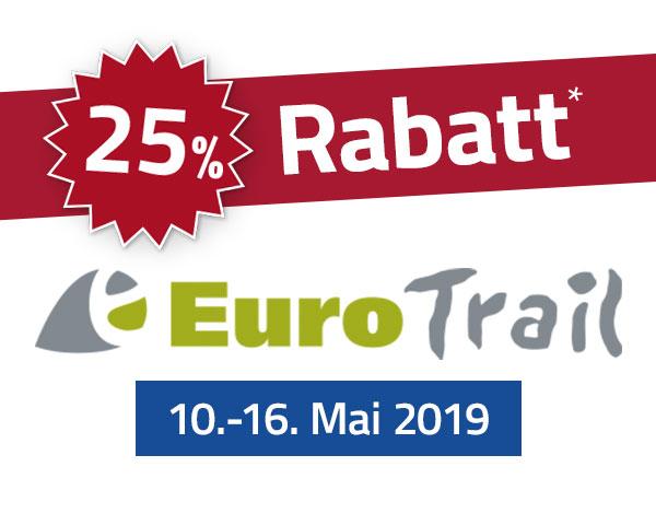 25% Rabatt-Aktion Eurotrail