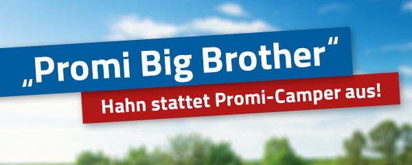"Verlosung ""Promi Big Brother"""