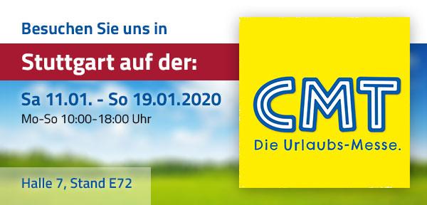 Messe CMT Stuttgart 2020