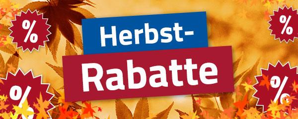 Herbst-Rabatte bei Hahn