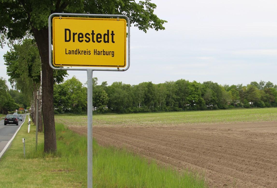 "Gewerbegebiet ""Trelder Straße"" in Drestedt"