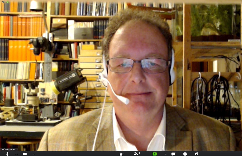 Olaf Zimmermann: Mein neuer Arbeitsplatz: Zoom, Skype, ...