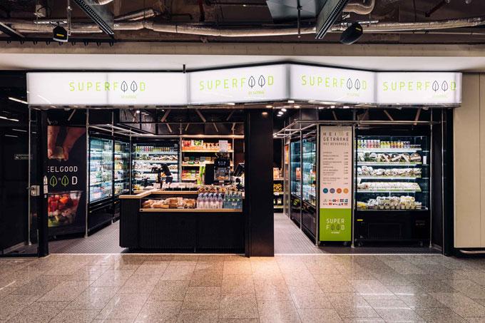 SUPERFOOD Pop-Up Store Frankfurt Airport