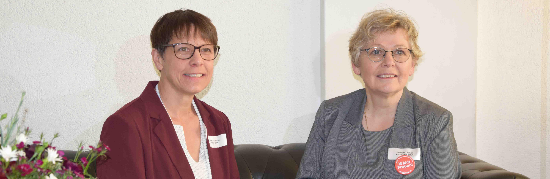 Anne Challandes und Christine Bühler
