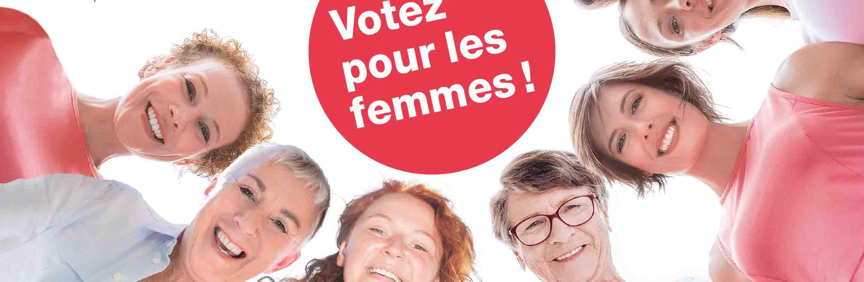 Votez pour les femmes