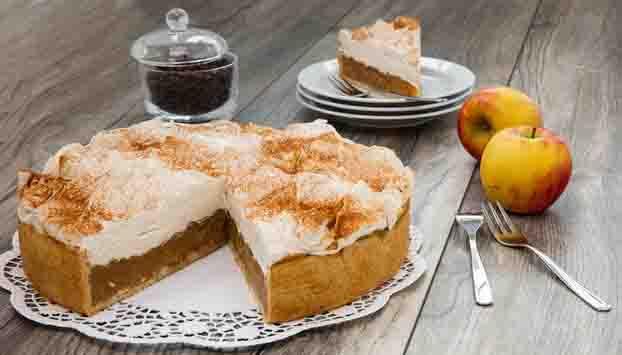 Apfel-Zimtcreme-Torte