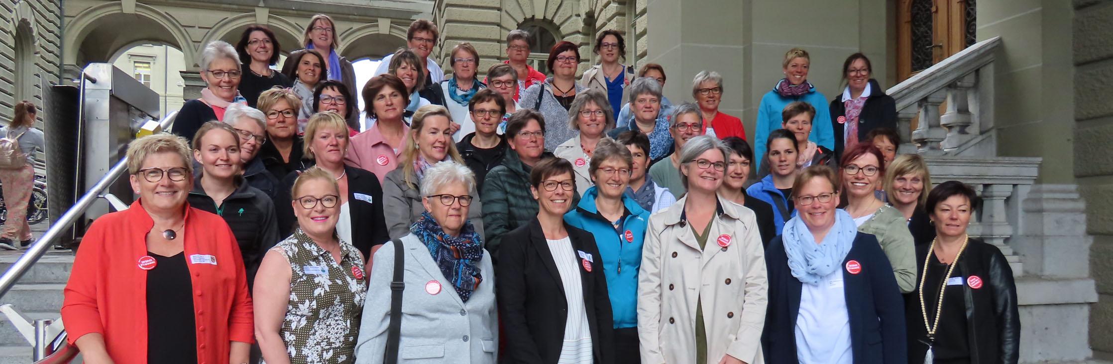 SBLV Stehlunch im Bundeshaus