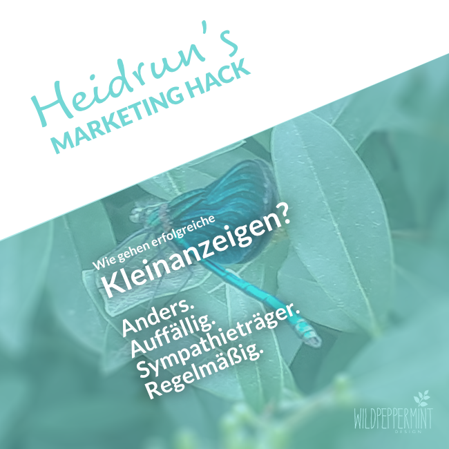 Heidruns Marketing Hack No. 2