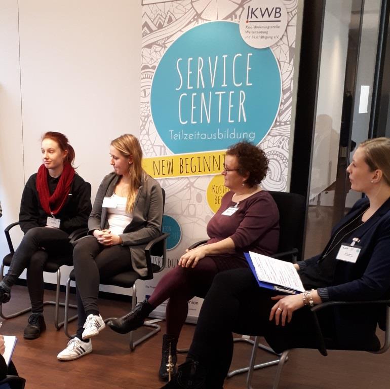 Veranstaltung des ServiceCenter Teilzeitausbildung