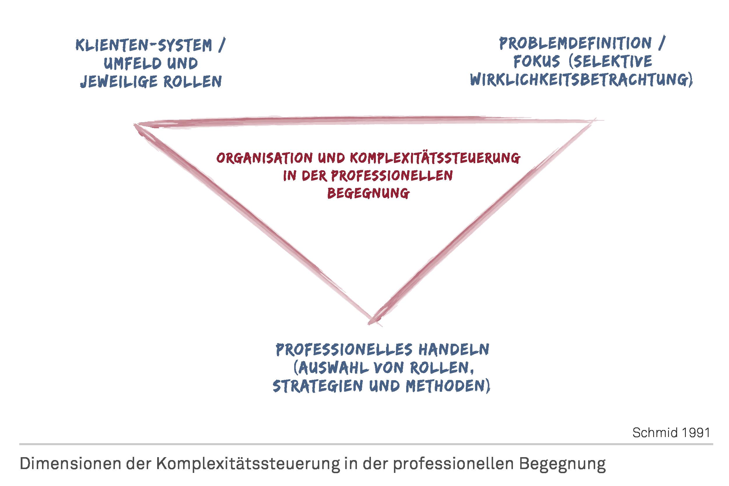 Dimensionen der Komplexitätssteuerung