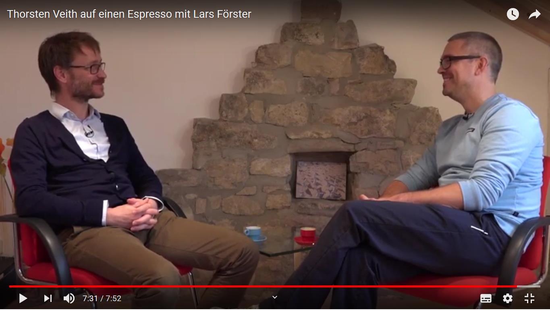 Auf einen Espresso mit Lars Förster