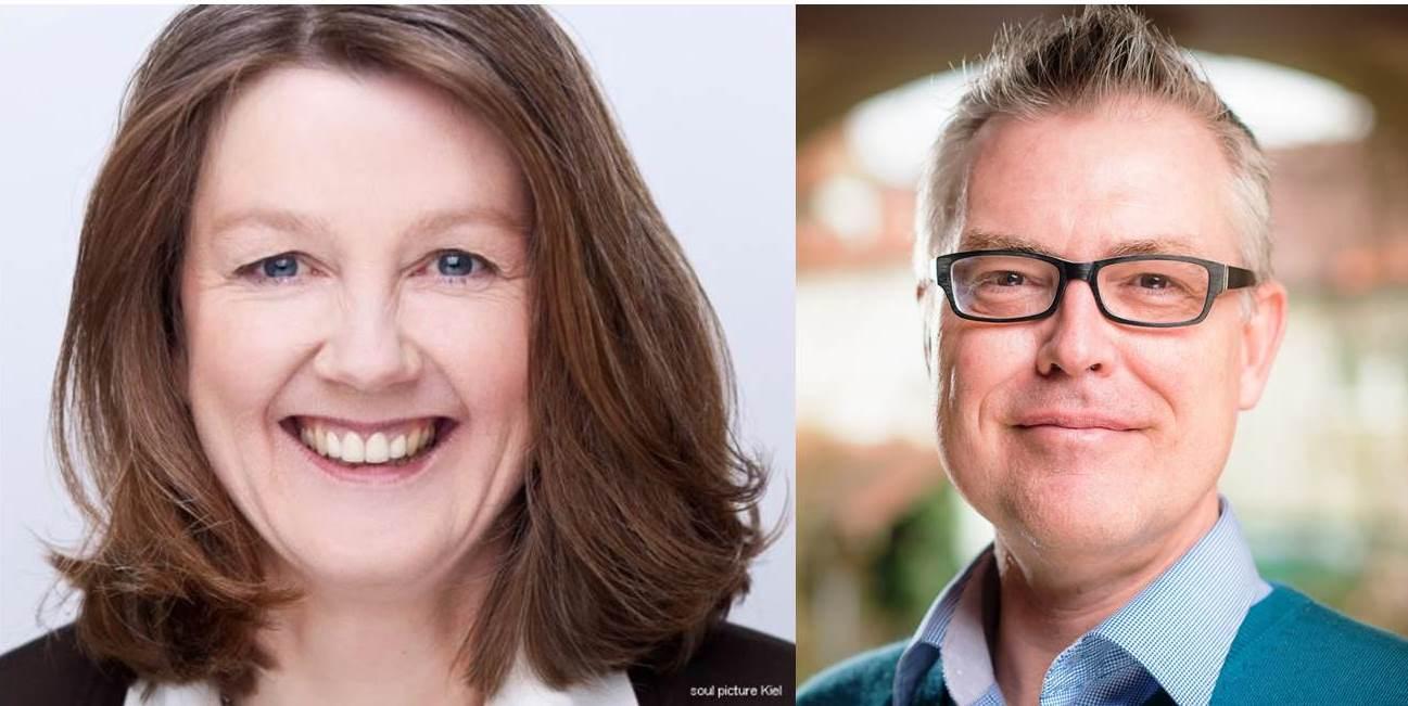Die Lehrtrainer des O-Design Silke Heerhagen und Markus Schwemmle