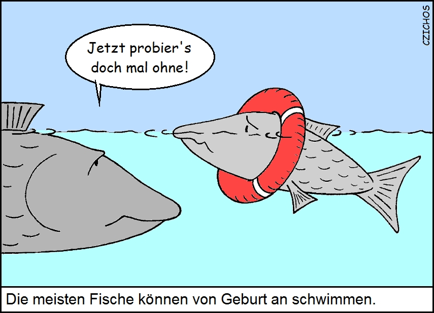Cartoon: http://www.joachim-czichos.de/