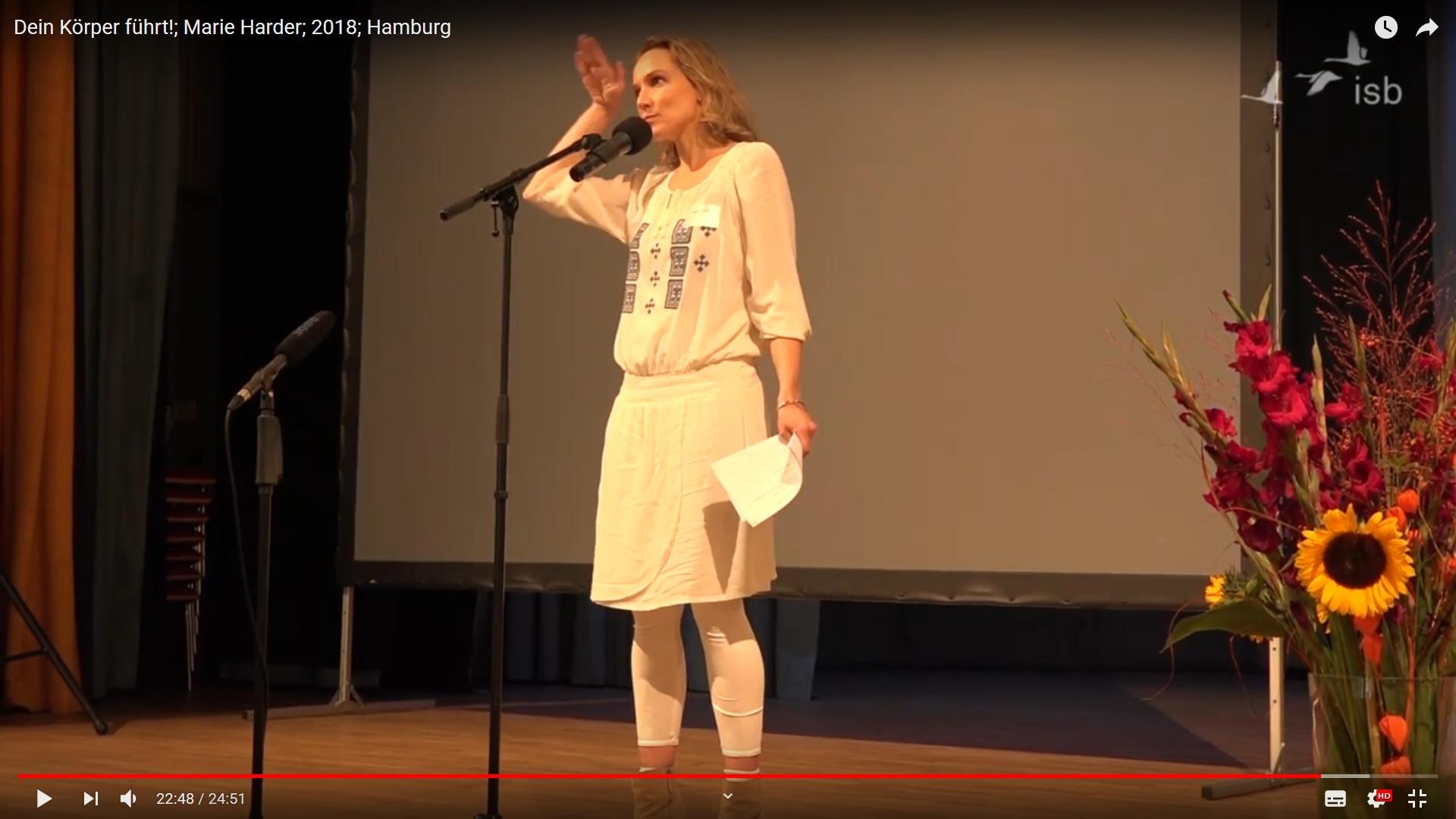 Marie Harder: Dein Körper führt!