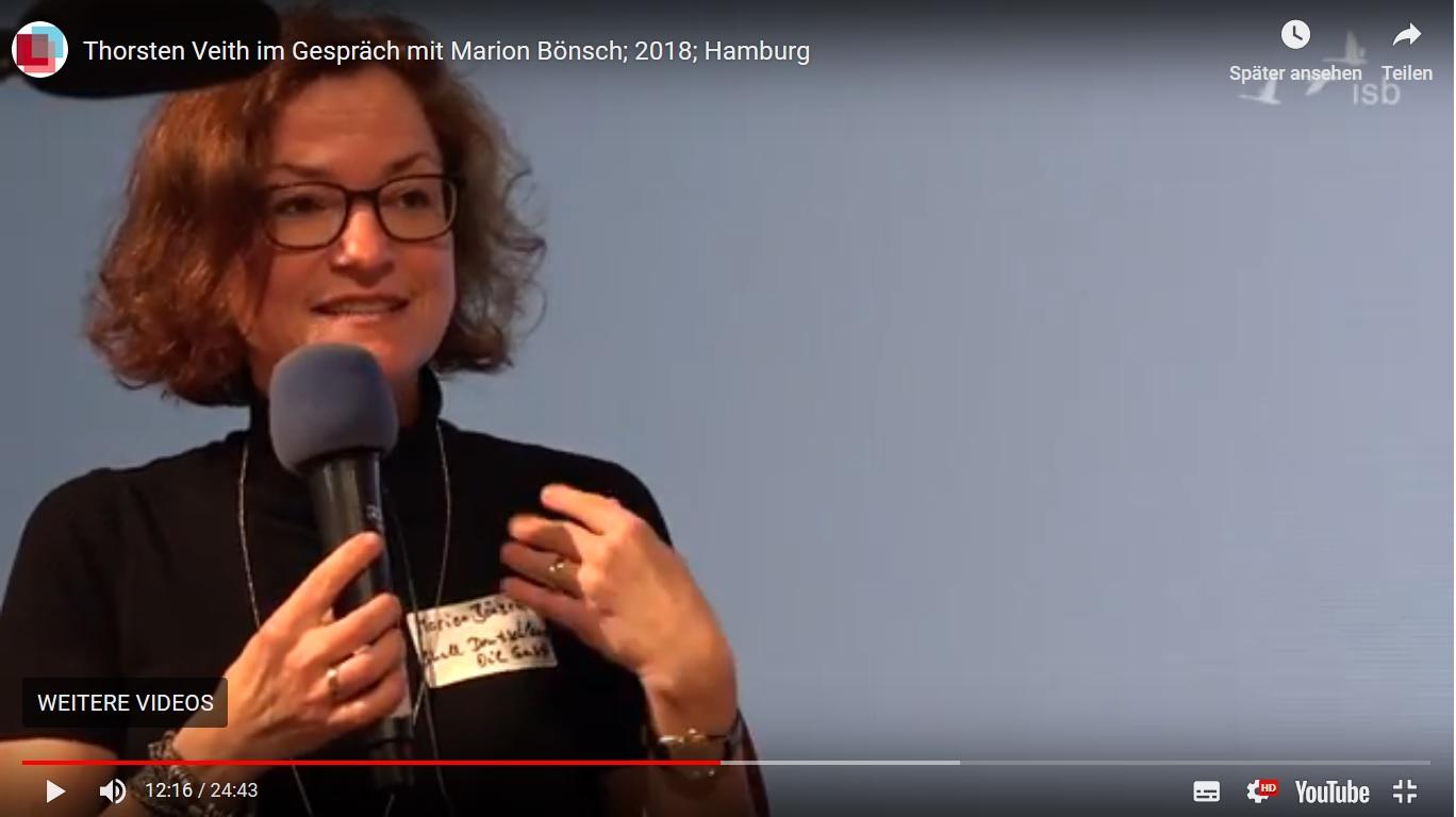 Marion Bönsch beim Symposium isb Nord 2018