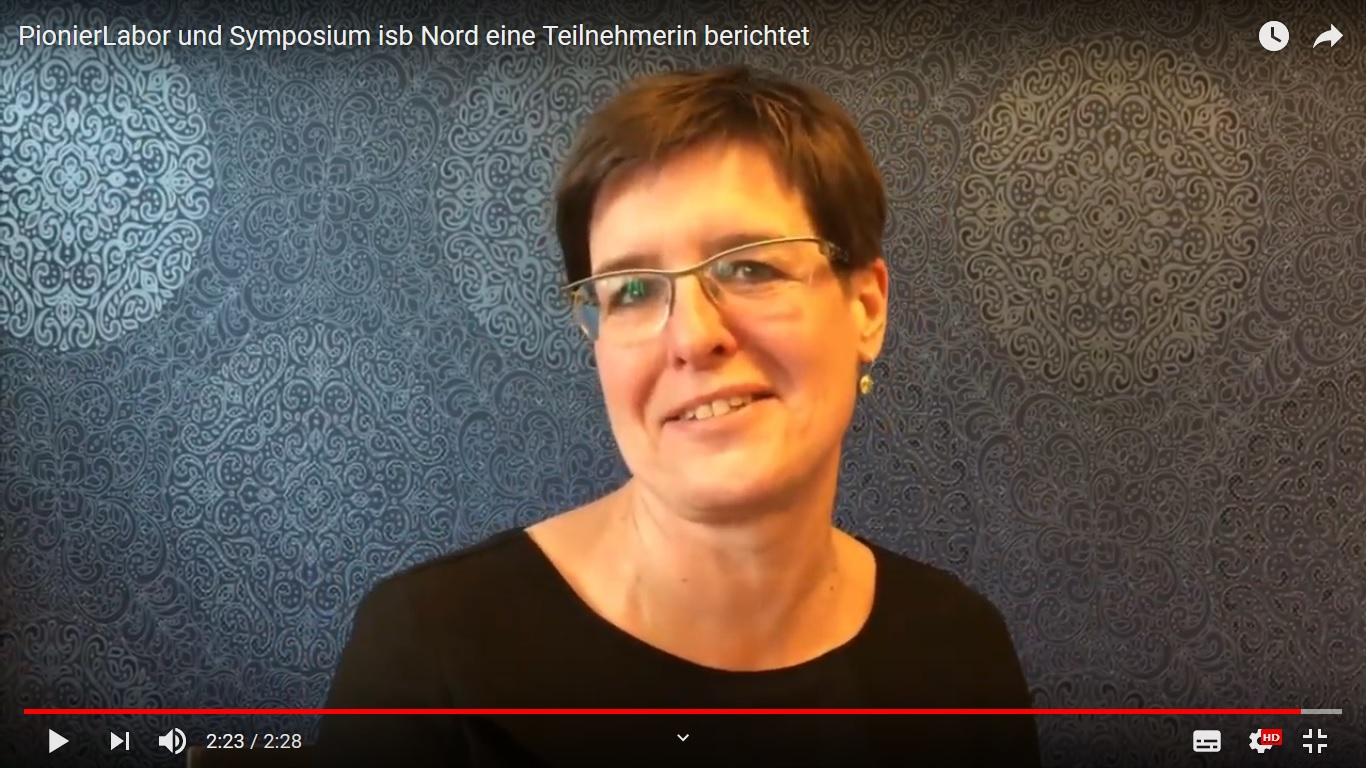 Beate Ritzler über das Symposium isb Nord und das PionierLabor