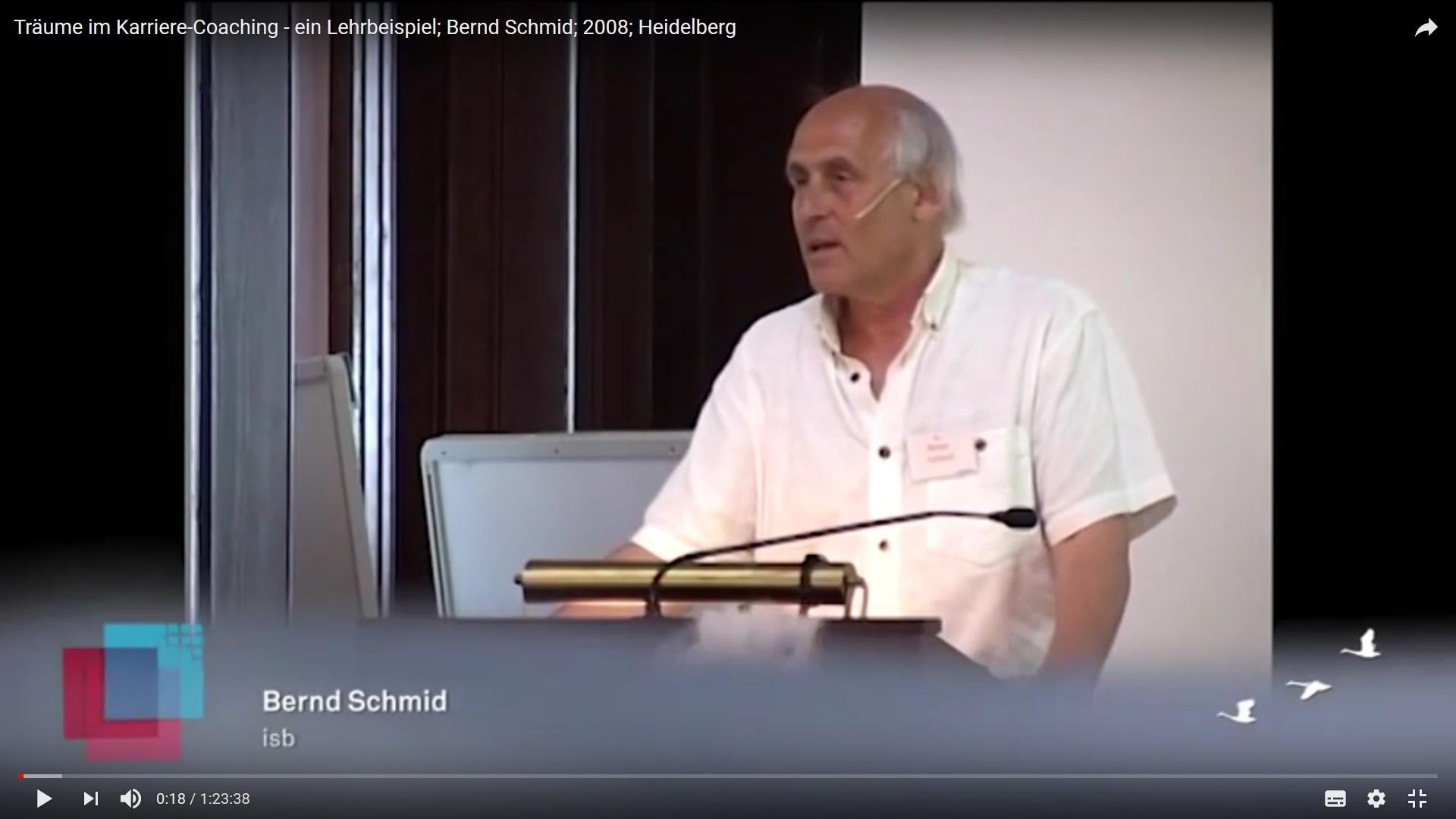 Träume im Karrierecoaching - ein Lehrbeispiel von Bernd Schmid