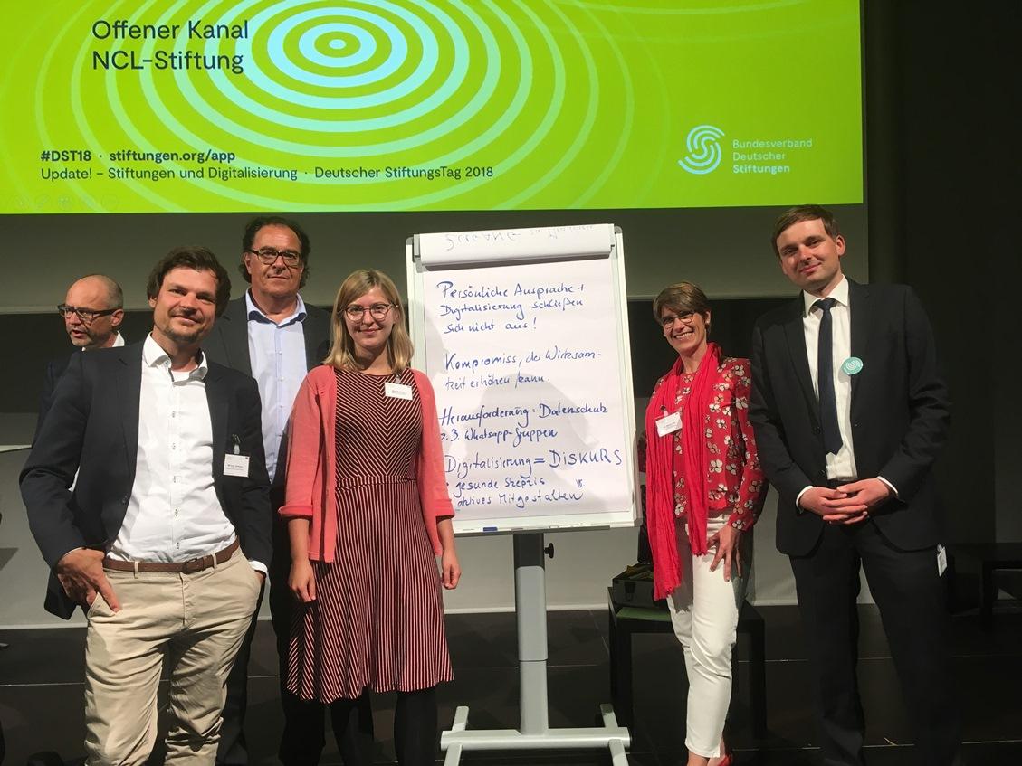 Schmid Stiftung auf dem Stiftungstag 2018