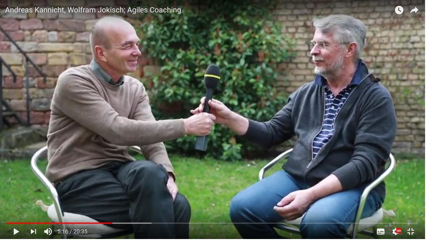 Andreas Kannicht und Wolfram Jokisch über Agiles Coaching