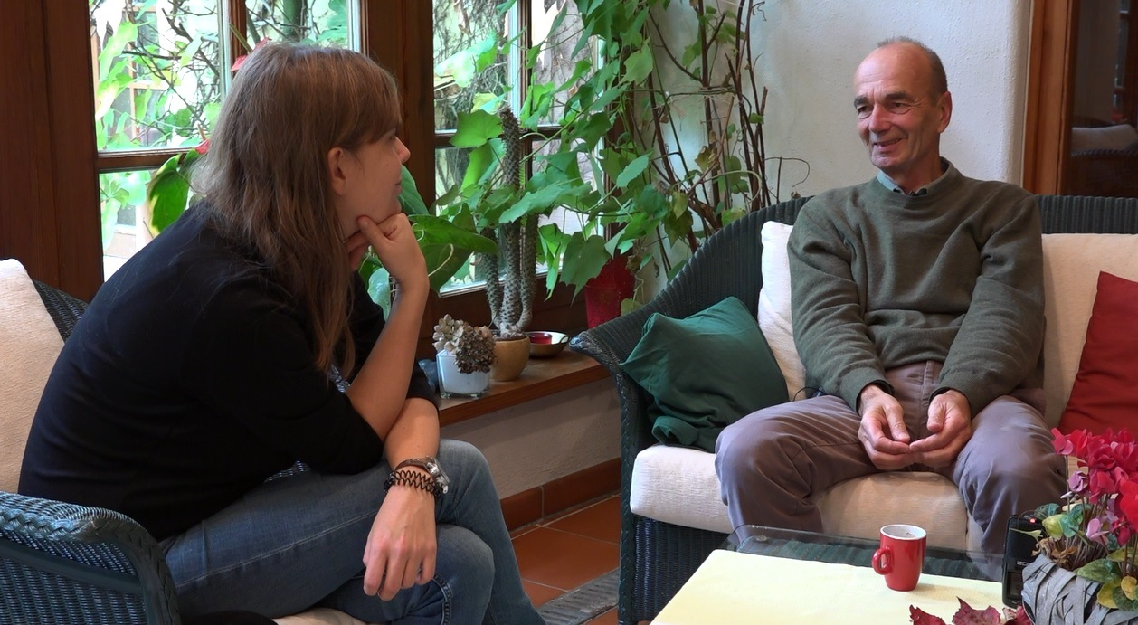 Andreas Kannicht  im Interview mit Laura Sobez