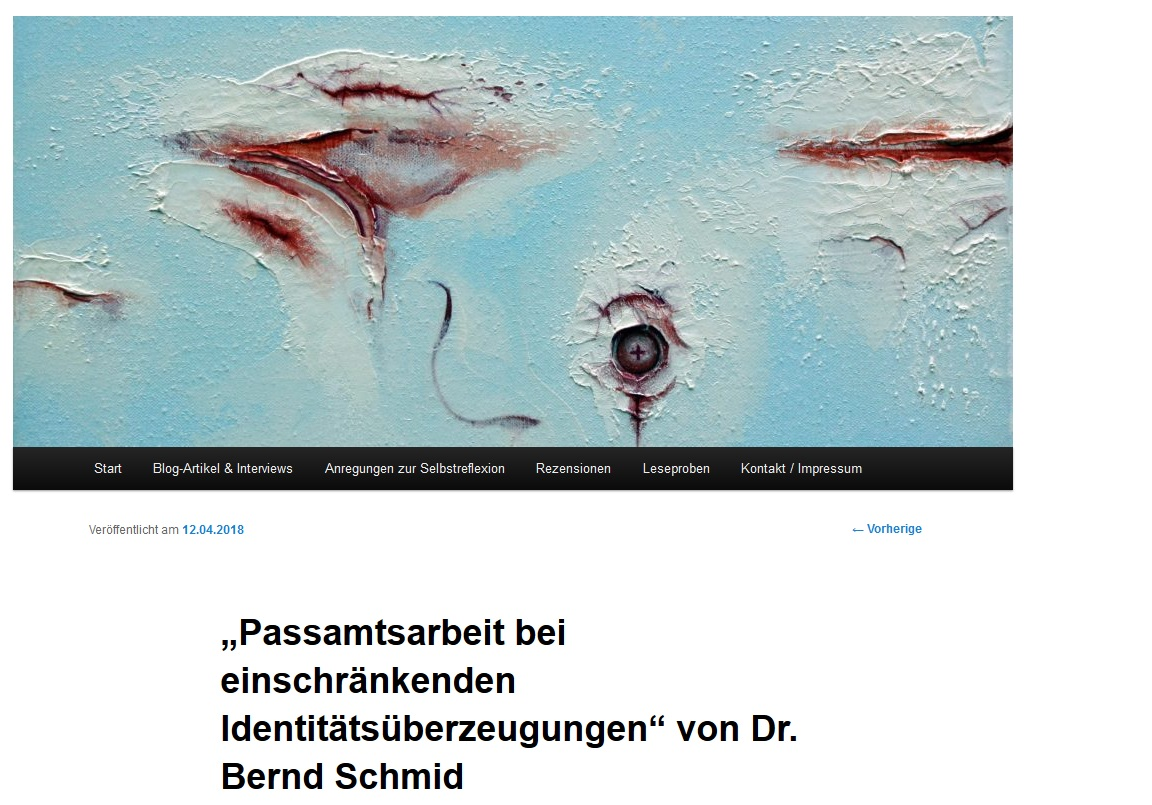 Blog Passamtsarbeit Bernd Schmid