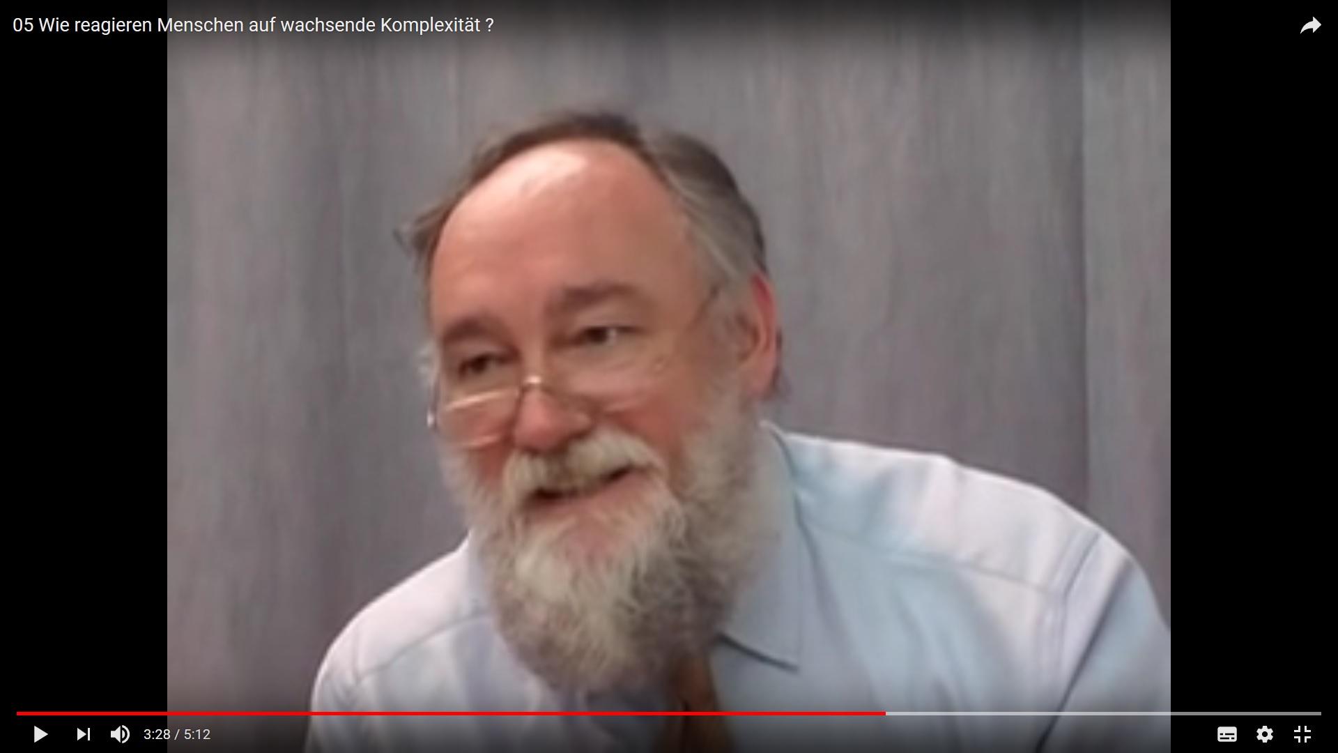 Prof. Peter Kruse über Komplexität