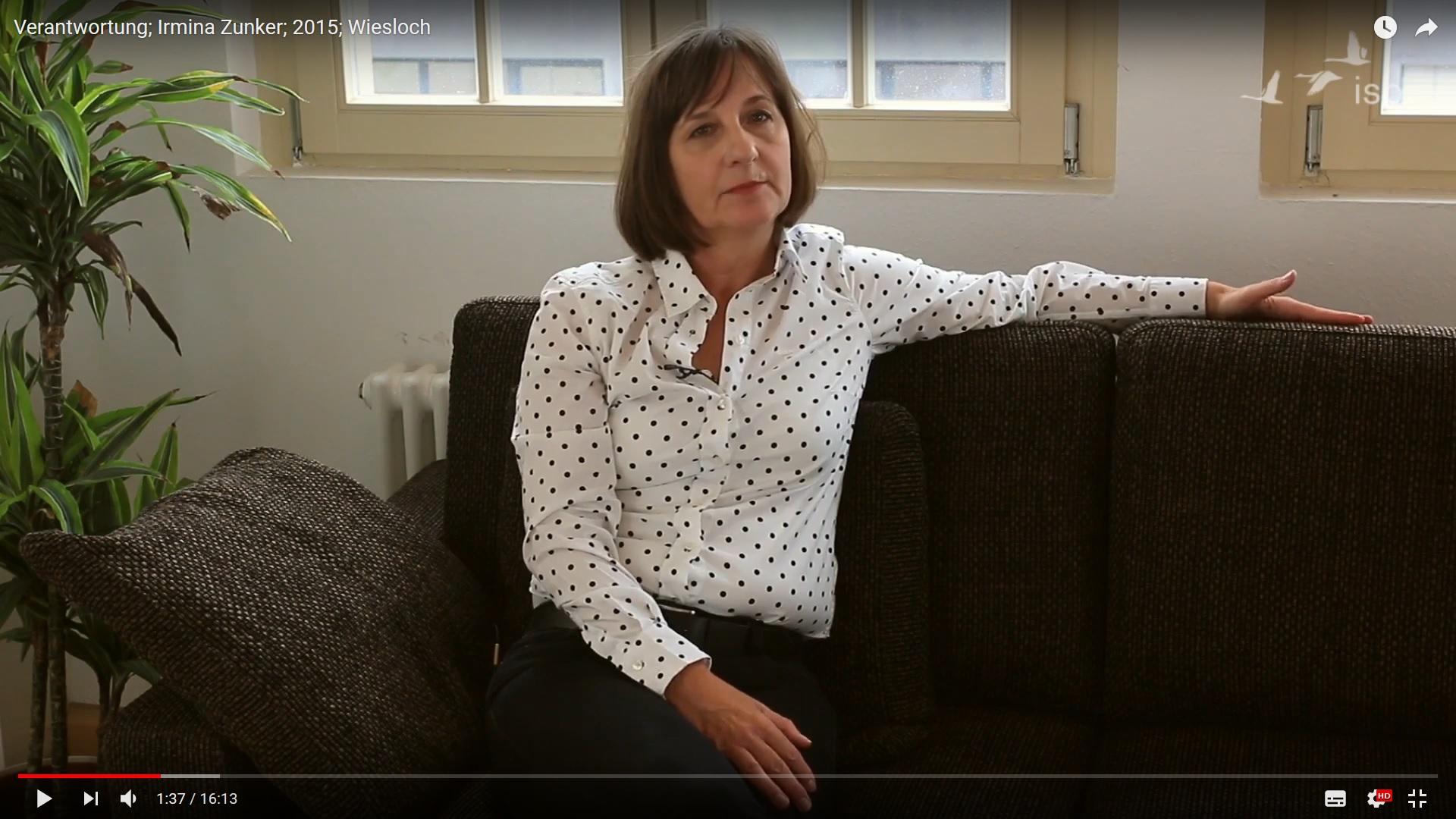 Irmina Zunker über Verantwortung