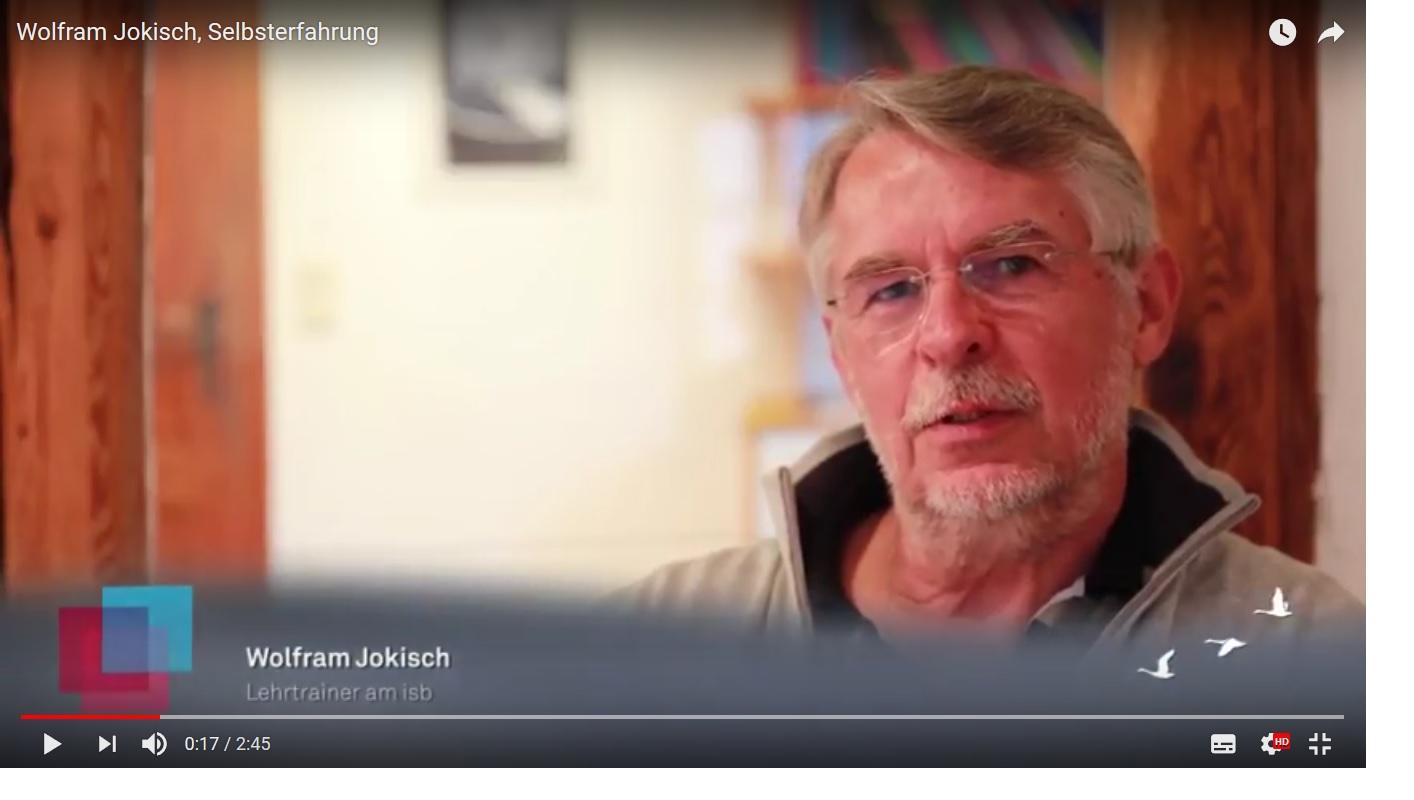 Wolfram Jokisch über Selbsterfahrung