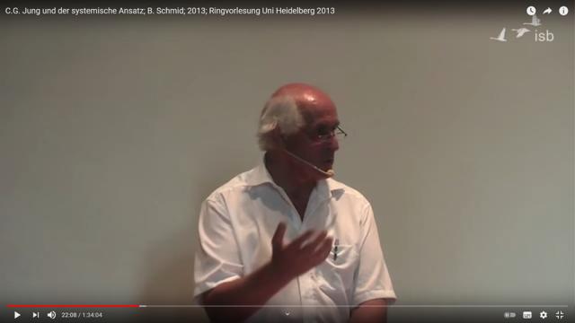 Bernd Schmid über C. G. Jung