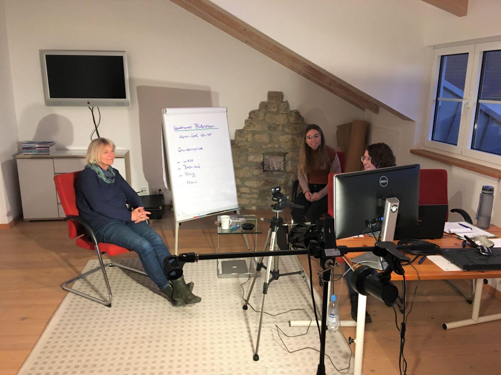 Dörthe Verres im Mini-Hybrid-Seminar