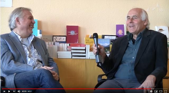 Gunther Schmidt und Bernd Schmid im Gespräch