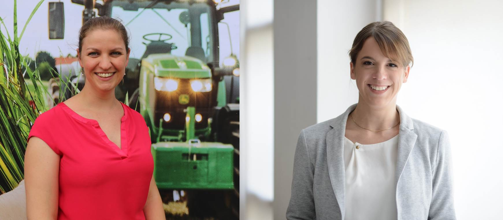 Janina Effelsberg und Sabrina Leibrecht