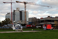 Foto: Hilfe für COVID-19-Patienten aus Belgien und den Niederlanden