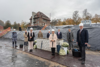 Foto: Land und Bund im Schulterschluss: Grundsteinlegung für zwei Forschungsbauten für die münstersche Uni-Medizin mit Bauvolumen von rund 240 Mio. Euro