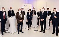 Foto/UKM: Freuen sich über die Förderung durch die Deutsche Krebshilfe: Die Vertreter des WTZ-Netzwerks Essen und Münster.