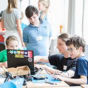"""""""Jugend hackt"""" Köln 2018, Foto: CC-BY 4.0 Jugend hackt, Anna Henatsch"""