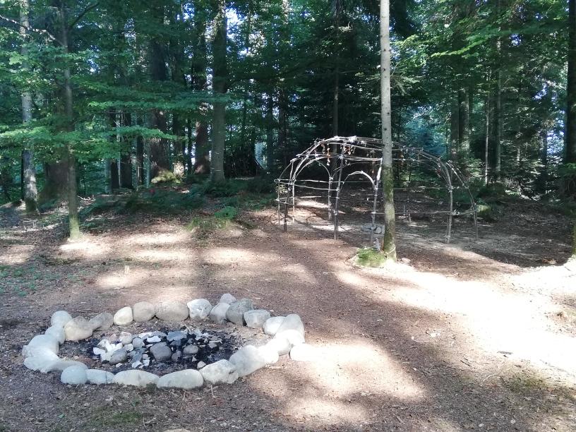 Bild Schwitzhütte
