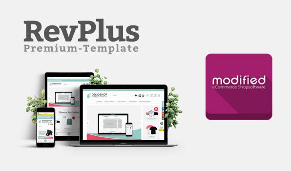 RevPlus Premium Template für modified eCommerce Shopsoftware